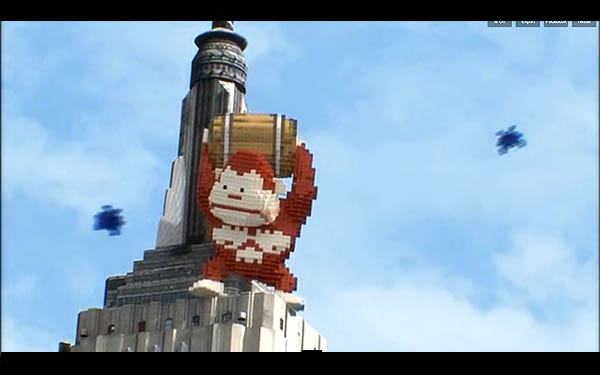 Donkey Kong in New York