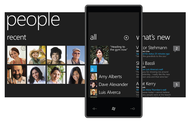 Windows Phone 7 Interface